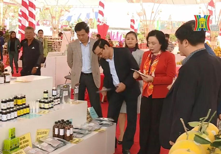Nhiều nông sản tiềm năng của Hà Nội được quảng bá tại Festival sản phẩm nông nghiệp và làng nghề Hà Nội lần thứ nhất, tháng 12/2019