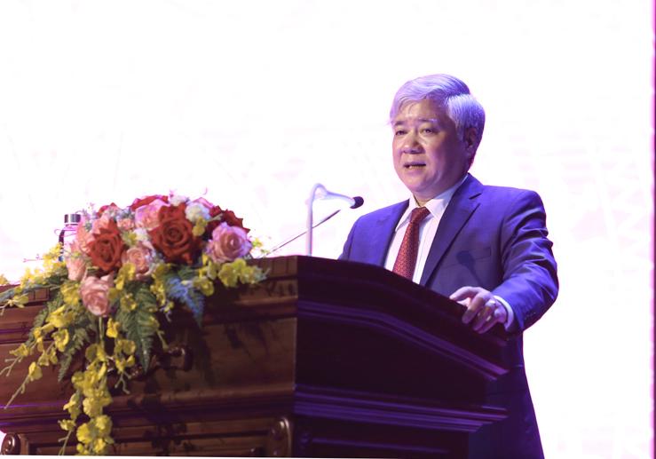 Bộ trưởng, Chủ nhiệm Đỗ Văn Chiến phát biểu tại Lễ trao quyết định