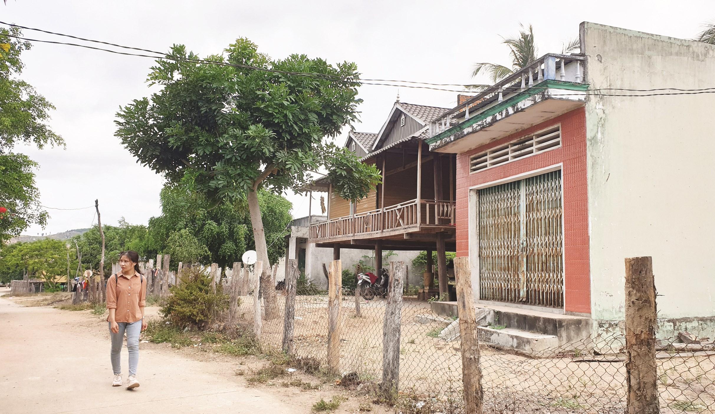 Một góc xã Đăk Tơ Pang hôm nay.