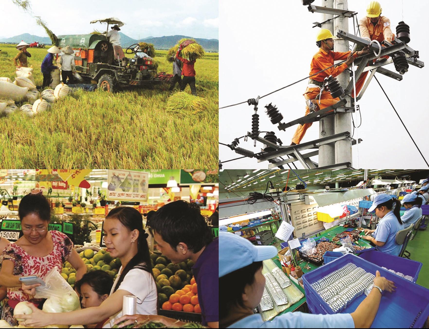 Kinh tế - xã hội Việt Nam đạt được nhiều thành tựu trong giai đoạn hiện nay. (Ảnh: minh họa).