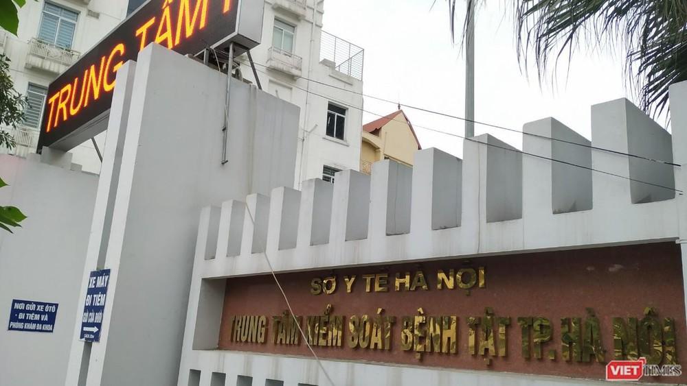 Trung tâm Kiểm soát bệnh tật TP. Hà Nội.