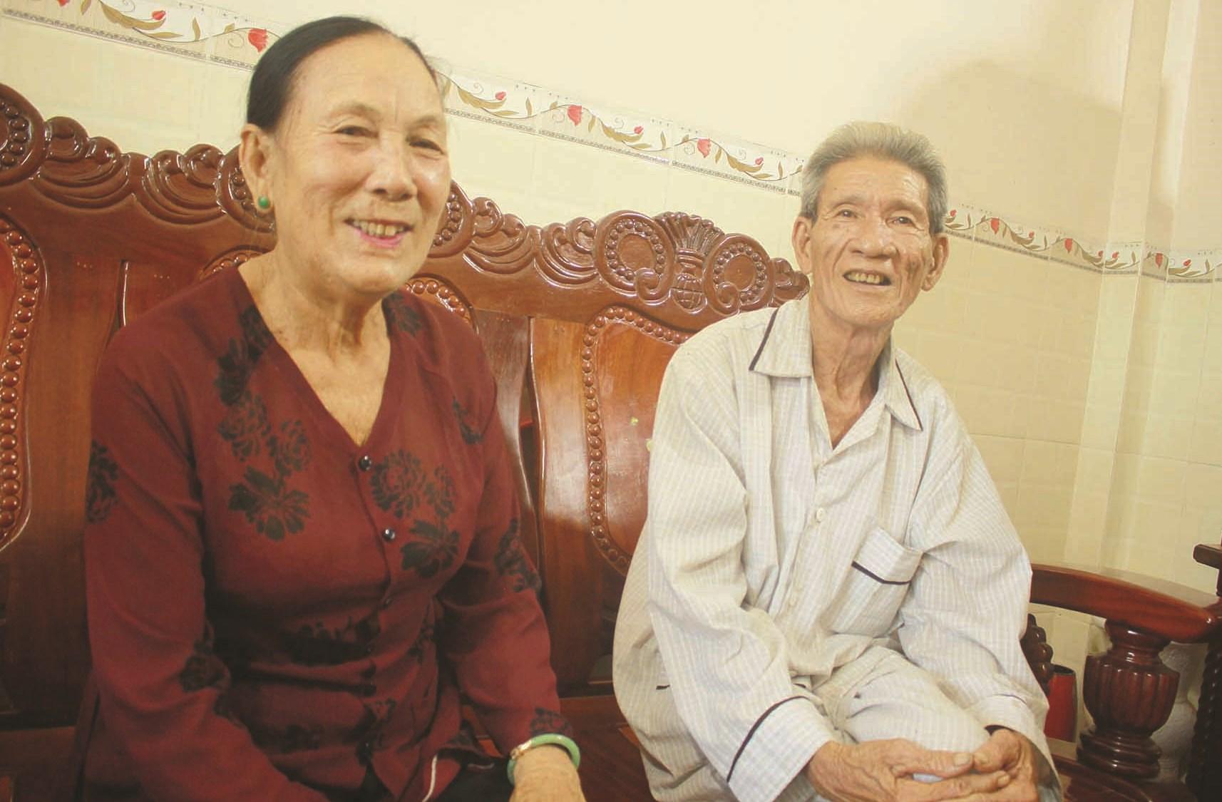Bà Đỗ Thị Hảo thôn Tây An Vĩnh, huyện đảo Lý Sơn là người giữ điệu hát ru về bảo vệ chủ quyền biển đảo Hoàng Sa, Trường Sa