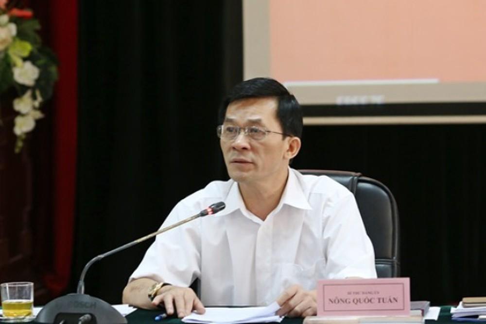 Đồng chí Nông Quốc Tuấn, Bí thư Đảng ủy, Thứ trưởng, Phó Chủ nhiệm Ủy ban Dân tộc