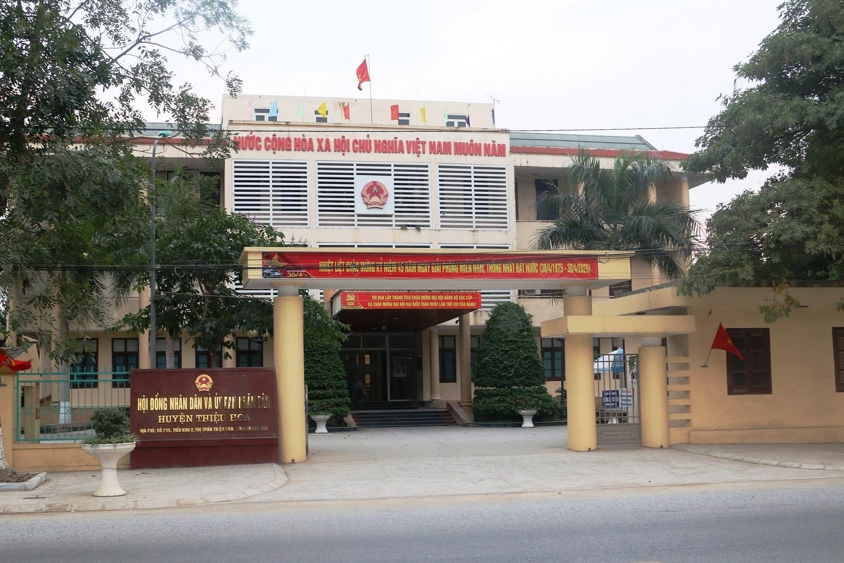UBND huyện Thiệu Hóa sẽ kiện UBND xã Thiệu Công vì không chịu trả nợ!
