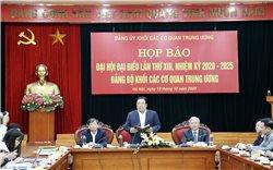 Đại hội Đại biểu lần thứ XIII Đảng ủy khối các Cơ quan Trung ương sẽ diễn ra từ 27-29/10