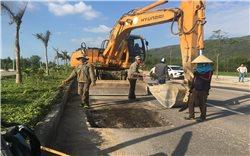 Bình Định: Khẩn trương khắc phục tuyến đường phía Tây