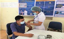 Bắc Hà (Lào Cai): Triển khai đợt tiêm chủng đầu tiên phòng chống dịch Covid-19