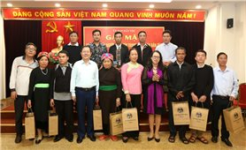 UBDT: Gặp mặt Đoàn đại biểu Người có uy tín tỉnh Lào Cai