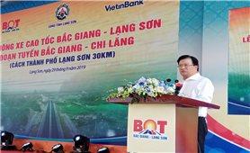 Thông xe đoạn Bắc Giang-Chi Lăng thuộc cao tốc Bắc Giang - Lạng Sơn