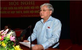 Bộ trưởng, Chủ nhiệm UBDT Đỗ Văn Chiến tiếp xúc cử tri huyện Na Hang, tỉnh Tuyên Quang