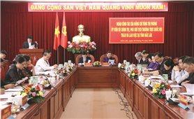 Phó Chủ tịch Thường trực Quốc hội làm việc với Ban Thường vụ tỉnh Đăk Lăk