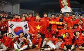 Chiến thắng lịch sử của bóng đá Việt Nam