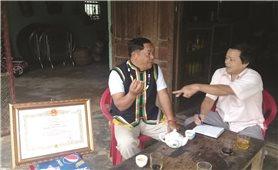Dương Lai - Nghệ nhân ưu tú của dân tộc Cor