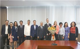 Bộ trưởng, Chủ nhiệm Ủy ban Dân tộc Đỗ Văn Chiến tiếp và làm việc với Đại sứ Ai Len tại Việt Nam