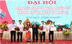 Đại hội Đại biểu các DTTS TP. Hà Nội: Phát triển toàn diện KT-XH vùng DTTS