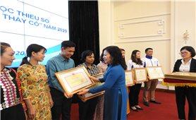 Bộ Giáo dục và Đào tạo gặp mặt 63 thầy, cô giáo dân tộc thiểu số tiêu biểu