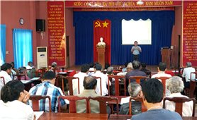 Bình Phước: Bồi dưỡng kiến thức cho 150 Già làng, Người có uy tín vùng đồng bào DTTS