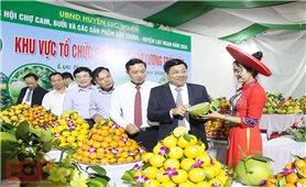 Lục Ngạn (Bắc Giang): Đi đầu trong hoạt động xúc tiến, tiêu thụ sản phẩm nông sản