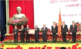 Liên minh Hợp tác xã Việt Nam vinh dự đón nhận Huân chương Độc lập hạng Nhì