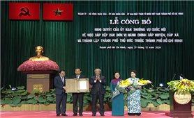 TP. Hồ Chí Minh: Công bố nghị quyết thành lập thành phố Thủ Đức