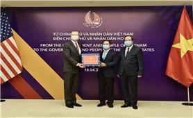 Trao tặng vật tư y tế hỗ trợ Nhật Bản, Hoa Kỳ, Nga