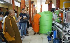 Kiên Giang: Nhiều chùa Khmer được hỗ trợ máy lọc nước