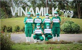 Vinamilk ủng hộ gần 15 tỷ đồng tiếp sức cho lực lượng tuyến đầu chống dịch