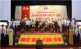Đảng bộ huyện Tân Uyên (Lai Châu): Tổ chức thành công Đại hội nhiệm kỳ 2020 - 2025