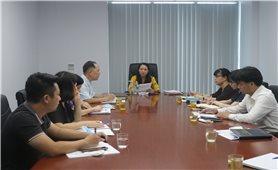 Thứ trưởng, Phó Chủ nhiệm Hoàng Thị Hạnh làm việc với Tạp chí Dân tộc