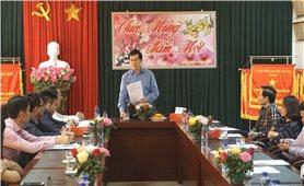 Thứ trưởng, Phó Chủ nhiệm UBDT Nông Quốc Tuấn thăm và làm việc với Ban Dân tộc Lai Châu