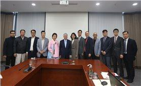 Bộ trưởng, Chủ nhiệm Đỗ Văn Chiến tiếp và làm việc với Chủ tịch Công ty Seowonfeedex Hàn Quốc