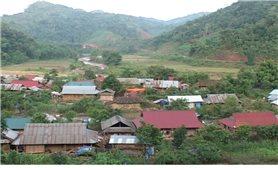 Sín Thầu phấn đấu về đích nông thôn mới
