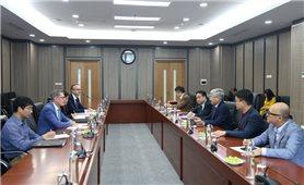 Bộ trưởng Đỗ Văn Chiến tiếp Đại sứ nước Cộng Hòa Áo tại Việt Nam