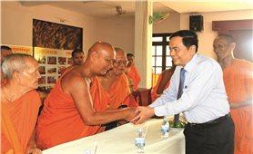 Chủ tịch Ủy ban Trung ương MTTQ Việt Nam gửi thư chúc mừng tết Chôl Chnăm Thmây tới đồng bào Khmer