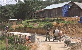 Buôn làng đổi thay từ xây dựng Nông thôn mới