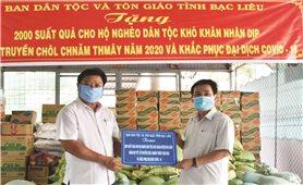 Bạc Liêu: Tặng 2.000 phần quà cho đồng bào Khmer nghèo nhân dịp tết Chôl Chnăm Thmây 2020