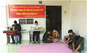 Đồn Biên phòng Vĩnh Hải (Sóc Trăng): Tuyên truyền, giúp dân phòng, chống dịch