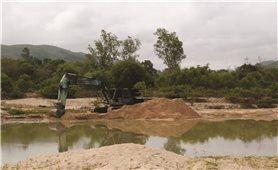 Bình Định: Sông An Lão nham nhở vì khai thác cát