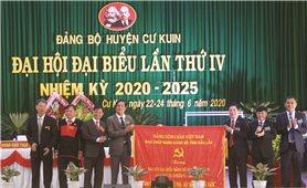 Đại hội đại biểu Đảng bộ huyện Cư Kuin lần thứ IV