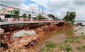 Chỉnh trị dòng chảy sông Hậu, khắc phục sạt lở Quốc lộ 91 là cần thiết
