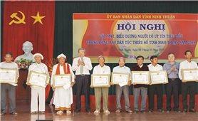 Ninh Thuận: Phát huy vai trò Người có uy tín trong đồng bào DTTS