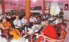 Đồng bào Khmer xã Thới An Hội (Sóc Trăng): Tích cực tham gia Mô hình phòng, chống tội phạm