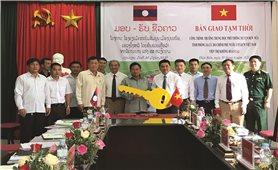Ngôi trường ghi dấu ấn đặc biệt tình hữu nghị Việt Nam - Lào