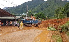 Lai Châu: Khẩn trường khắc phục thiệt hại do mưa lũ gây ra