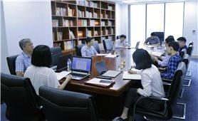 Thứ trưởng, Phó Chủ nhiệm Nông Quốc Tuấn làm việc với Trung tâm Thông tin