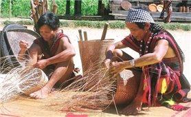 Triển lãm và giới thiệu nghề đan lát của người Cơ Tu