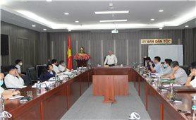 Ủy ban Dân tộc: Góp ý xây dựng Dự án 9 thuộc Chương trình trình mục tiêu quốc gia