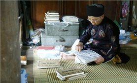 Gìn giữ nét đẹp văn hóa trong tranh thờ người Dao