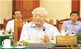 Tổng Bí thư, Chủ tịch nước chủ trì buổi làm việc với Ban Thường vụ Thành ủy TP. Hồ Chí Minh