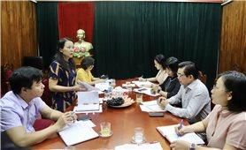 Thứ trưởng, Phó Chủ nhiệm Hoàng Thị Hạnh làm việc với Báo Dân tộc và Phát triển